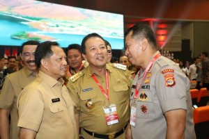 Selaraskan Visi Misi, Gubernur Lampung Hadiri Rakornas