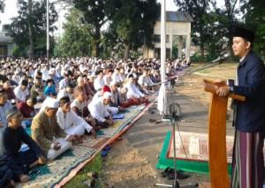 PTPN VII Gelar Sholat Idul Fitri 1440 Hijrah