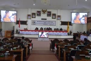 DPRD Lamteng Gelar Rapat Paripurna Istimewa HUT Ke 73 Republik Indonesia