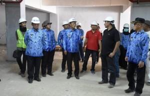 Pembangunan GSG Bumi Sai Wawai Capai 60 Persen