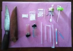 Polisi Tangkap Enam Tersangka Penyalahgunaan Narkoba