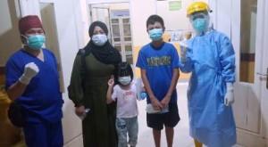 Tiga Warga Menggala Sembuh Dari Covid, Termasuk Anak Lima Tahun