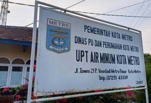 Dikeluhkan Pelanggan, Kepala UPT Perusahaan Air Minum Metro Ikut Mengeluh