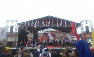 Kampanye Jokowi, Arinal: Pabrik Karet Dan Politeknik Industri Dibangun Di Tulangbawang Barat