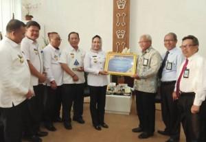 Pemkab Tulangbawang Terima Predikat WTP Dari Kementerian Keuangan