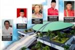 Lima Mantan Bupati Lolos Ke Senayan