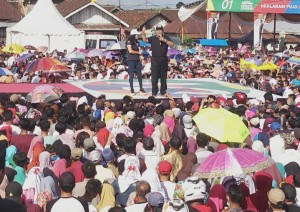 Kampanyekan Jokowi, Ini Program Pro Rakyat Arinal Djunaidi