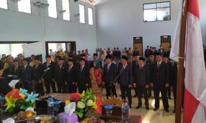 Delapan Anggota DPRD Pesibar Berstatus Incumben