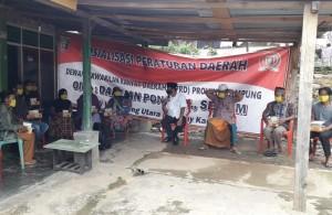 Turun Ke Dapilnya, Darlian Pone Bawa Misi Pencegahan Narkoba Dan Covid-19