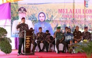 Lomba Desa Tingkat Provinsi Lampung, Bupati Pesawaran Optimistis Desa Trirahayu Juara