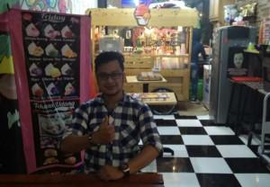 Ice Cream Pempek Masboy, Harga Terjangkau Pelayanan Penuh Kekeluargaan