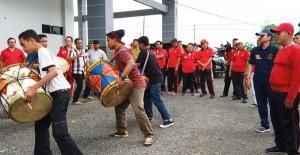 Festival 1.000 Tambur Di Cibubur, Lamsel Kirim Grup Tuah Sakato