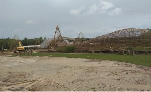 MTQ Ke-47 Lampung Berornamen Bubu Bambu Raksasa
