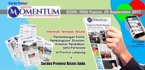 Harian Momentum Edisi 28 September 2017