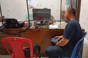 Dianiaya, Wartawan Radar Lampung Lapor Polisi