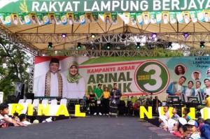 Pilgub Lampung, Soleh Badjuri Ajak Pilih Arinal-Nunik