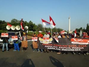 Papua Tetap Merah Putih,  Tak Ada Opsi Referendum
