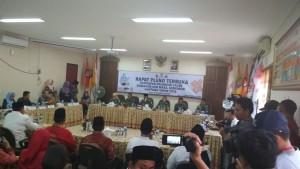 Rapat Pleno Penetapan Paslon Pilgub Lampung Dibuka!!