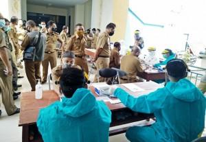 Pejabat Pemkab Mesuji Rapid Tes