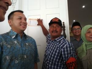 Coklit Serentak 2018, PPDP Datangi Rumah Dinas Gubernur Lampung