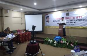 Uji Kelayakan PKS, Yusuf Kohar Dapat Simpati Panelis