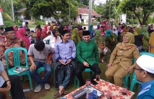 Caleg DPR RI PKB Diduga Kampanye Terselubung Di Pesisir Barat