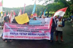 Dukungan Papua Bagian NKRI Di Berbagai Wilayah