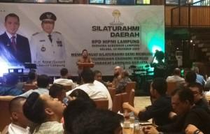 HIPMI Silaturahmi Dengan Gubernur Lampung
