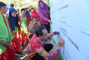 SMPN 1 Kalianda Deklarasi Wujudkan Sekolah Ramah Anak