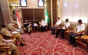 Direksi PTPN VII Sambangi Gubernur Sumsel