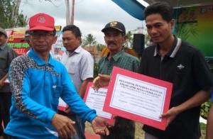 Genjot Produksi Budidaya Ikan Air Tawar, Diskan Pringsewu Salurkan Bantun Hibah