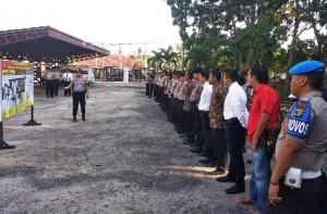 Ratusan Polisi Amankan Pelantikan Legislatif Lamtim