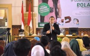 Binaragawan Ade Ray Sosialisasi Program BPJS Di Sukadana
