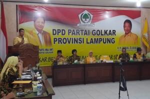 Ini Pesan Rycko Menoza Untuk AMPG Lampung
