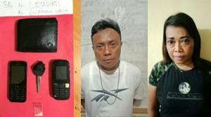 Diduga Kurir Narkoba, Sejoli Ditangkap Saat Melintas Di Yosodadi
