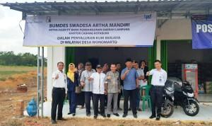 Bank Lampung Jalin Kerja Sama Dengan BUMDES Swadesa