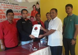 Pendaftaran Ditutup, Tujuh Balonkada Ikut Penjaringan PDIP Lamtim