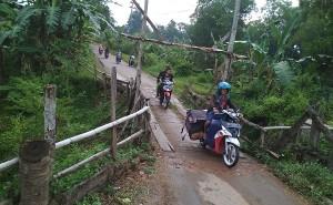 Dinas PU Provinsi Akan Perbaiki Gorong-gorong Di Tejosari