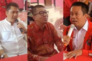 Tiga Bacalon Wakil Walikota Bersaing, Rebut Rekomendasai Partai
