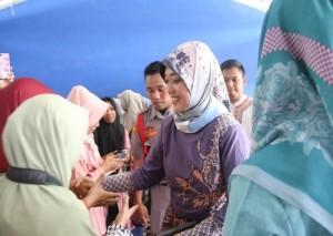 Nunik Ajak Fatayat NU Jaga Silaturahmi