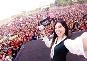 Vyanisty Dambakan Via Vallen Manggung Di Lampung