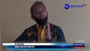 MOMENTUM TV: Wakil Walikota Metro Kunjungi Penderita Kanker Usus