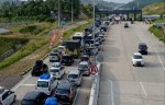 Macet Di Pintu Tol Bakauheni, Kendaraan Mengular Lebih 1 Km