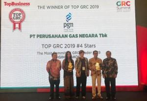PGN Raih Penghargaan <i>Top GRC</i> 2019