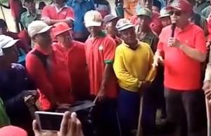 Kampanyekan Capres Jokowi, Bupati Lamteng Diduga Lakukan Pidana Pemilu