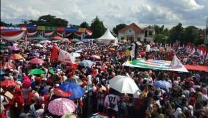 Kampanye Di Metro, Pairin: Ayo Pilih Jokowi