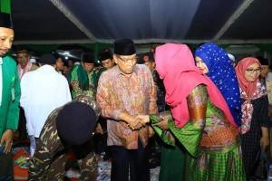KH Said Dan Wagub Hadiri Peringatan Hari Santri Di Tulangbawang