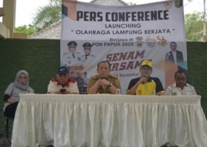 KONI Akan Luncurkan Tagline Olahraga Lampung Berjaya