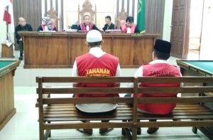 Terbukti Bersalah, Dua Oknum PNS Bandarlampung Dituntut 15 Bulan