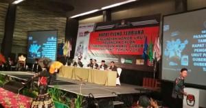Rapat Pleno Dibuka, Nanang Harap Pengundian Jadi Cara Teradil